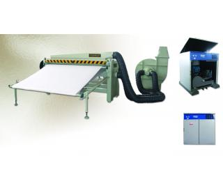 TA-180 (1800 MM) THROUGH – FEED AIR BLAST DEDUSTING MACHINE